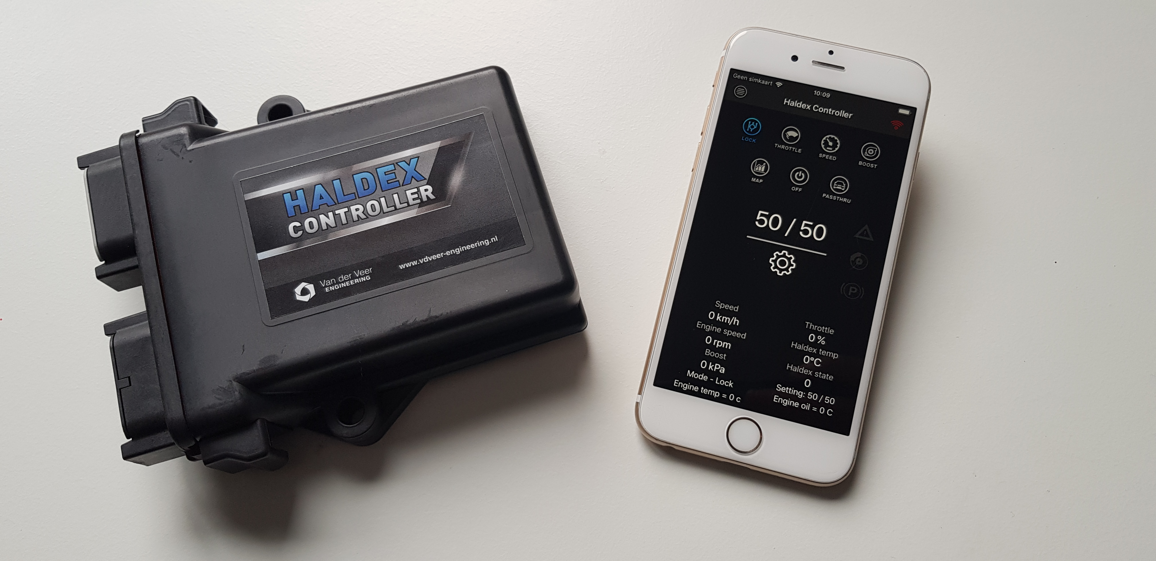 Haldex Controller iOS Iphone Apple