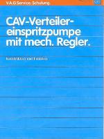 SSP 035 CAV-Verteiler einspritzpumpe mit mech Regler