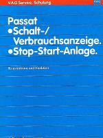 SSP 037 Passat Schalt-Verbrauchsanzeige, Stop-Start-Anzeige