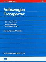 SSP 038 Volkswagen Transporter 1,6l Dieselmotor, Fahrzeugheizung, Zusatzheizung DA 6