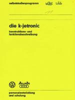 SSP 011 Die K-Jetronic