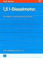 SSP 014 1,5l Dieselmotor