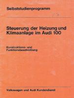 SSP 017 Steuerung der Heizung und Klimaanlage im Audi 100