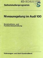 SSP 018 Niveauregelung im Audi 100