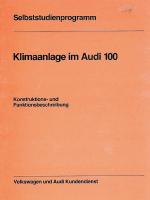 SSP 019 Klimaanlage im Audi 100
