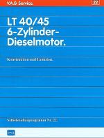 SSP 022 LT 40 45 6-Zylinder Dieselmotor