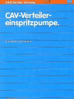 SSP 029 CAV Verteiler einspritzpumpe