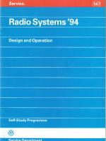 SSP 147 Radio Systems 94
