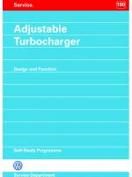 SSP 190 Adjustable Turbocharger