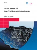 SSP 206 Four-Wheel Drive with Haldex Coupling