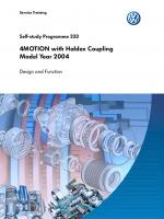 SSP 333 4MOTION with Haldex Coupling Model Year 2004