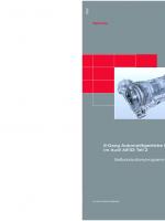 SSP 284 6-Gang Automatikgetriebe 09E im Audi A8'03 Teil 2