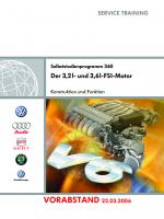 SSP 360 Der 3,2l und 3,6l-FSI-Motor