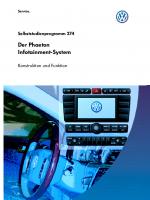 SSP 274 Der Phaeton Infotainment-System