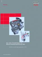 SSP 279 Der 2,0l-110 kW Motor mit Benzin-Direkteinspritzung (FSI)