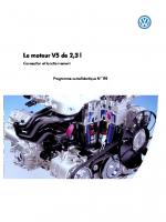 SSP 195 Le moteur V5 de 2,3 l