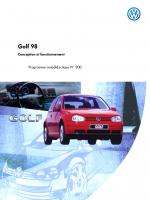 SSP 200 VW Golf MK4 1998