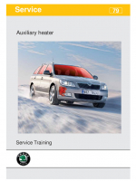 SSP 079 Heating Auxiliary heater