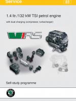SSP 083 1.4 132kW TSI petrol engine with dual charging