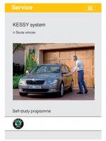 SSP 085 KESSY system in Škoda vehicles