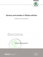 SSP 089 Sensors and senders in Škoda vehicles - Safety and Convenience
