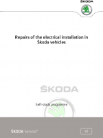 SSP 091 Repairs of the electrical installation in Škoda vehicles