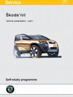 SSP 071 Škoda Yeti Vehicle presentation part l