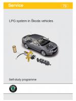 SSP 073 LPG system in Škoda vehicles