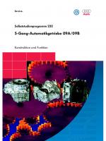 SSP 232 5-Gang-Automatikgetriebe 09A 09B