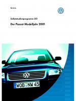 SSP 251 Der Passat Modelljahr 2001
