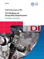 SSP 209 1,9 l TDI Motor mit Pumpe-DŸse-Einspritzsystem