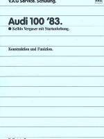 SSP 050 Audi 100 '83 - Keihin Vergaser mit Startanhebung