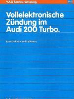 SSP 057 Vollelektronische Zündung im Audi 200 Turbo