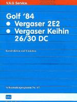 SSP 067 Golf '84 Vergaser 2E2 Vergaser Keihin 26 30 DC