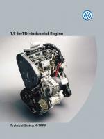 SSP 153 1,9 ltr-TDI-Industrial Engine