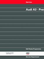SSP 181 Audi A3 - Presentation