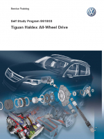 SSP 861803 Tiguan Haldex All-Wheel Drive