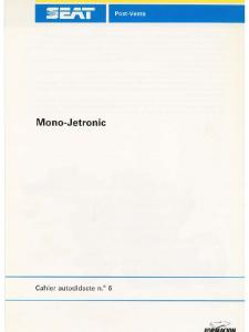 SSP 006 Mono-Jetronic