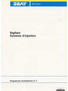 SSP 007 Digifant Système dinjection