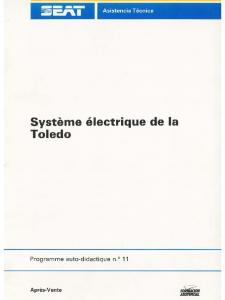 SSP 011 Système électrique de la Toledo