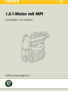SSP 012 1,6 l-Motor mit MPI