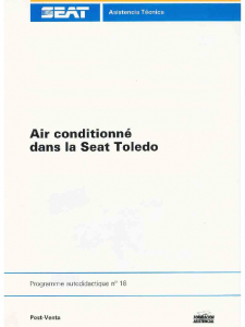 SSP 018 Air conditionné dans la Seat Toledo