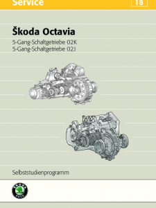 SSP 018 Skoda Octavia Schaltgetriebe 02K 02J