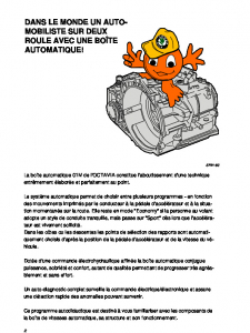 SSP 021 Boîte de vitesses automatique 01M