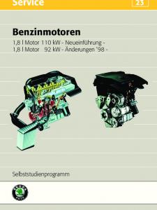 SSP 023 Benzinmotoren 1,8 l 110kW 1,8 l 92 kW