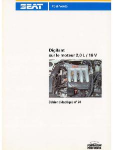 SSP 024 Digifant sur le moteur 2.0 L 16V