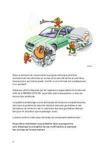 SSP 026 OCTAVIA - Sécurité du véhicule
