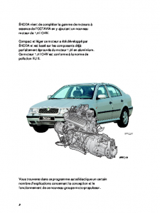 SSP 027 OCTAVIA - Moteur 1,4 l 44 kW et boîte de vitesses 002