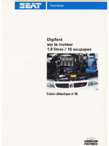 SSP 028 Digifant sur le moteur 18 litres 16 soupapes