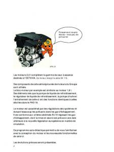 SSP 030 Moteurs à essence 2,0 l 85 kW et 88 kW